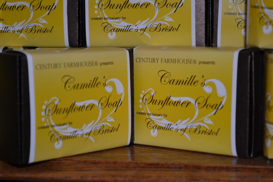 Century Farmhouse Handmade Soap- Camille's Sunflower Soap