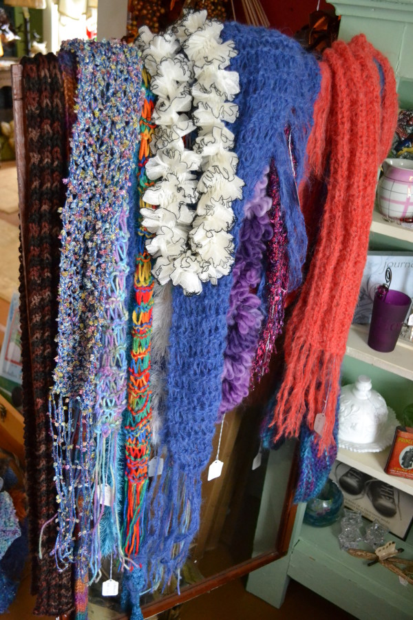 Judy McDowell Design Handknit Scarves